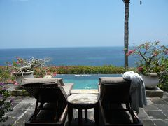 バリ島 楽園のホテルへ⑩ヴィラの朝食ビュッフェとアクアトニックプール
