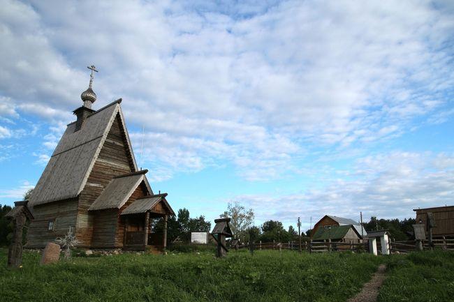 2016年ロシア黄金の環めぐりの旅【第8日目:プリョス1日目】(後編)風景画家レヴィタンが愛した町のヴォルガ河畔と木造教会がある景色