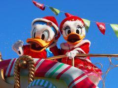 おひとり様ディズニーinディズニーランドのクリスマス クリスマスパレードなど