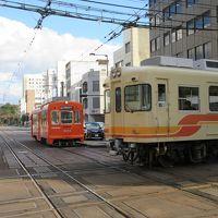 松山乗り鉄 伊予鉄路面電車 後半