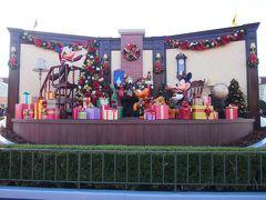 おひとり様ディズニーinディズニーランドのクリスマス クリスマスデコレーションなど