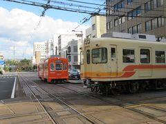 松山乗り鉄 伊予鉄 路面電車 後半