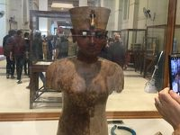 カイロとギザのピラミッドだけのショートエジプト(考古学博物館)