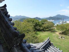 初秋の愛媛旅行♪ Vol16(第2日) ☆宇和島:「宇和島城」城からのパノラマ♪