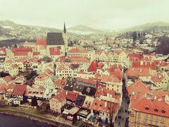 冬のヨーロッパに行ってきました☆5日目はチェスキークルムルフ