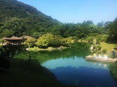 栗林公園「花園亭」での素晴らしい景色と美味しいお粥&玉藻公園で鯛の餌付け体験