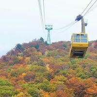 山形へ その2 蔵王で紅葉を楽しみました。まずは蔵王中央ロープウェイに。