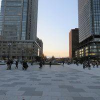 東京駅丸の内側駅舎前広場を歩く・・整備工事完成の様子