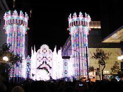 2017年最後の旅行記 2017神戸ルミナリエ