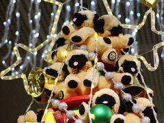 東京国際フォーラム恒例の干支クリスマスツリー(いぬバージョン)
