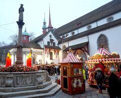 団塊夫婦のスキー&絶景の旅・2017末ー(2)スキーの合間にルツェルンのクリスマスマーケット見学
