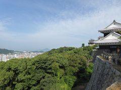 初秋の愛媛旅行♪ Vol35(第3日) ☆松山:「松山城」本丸からのパノラマと天守閣♪