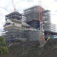 震災後初めての熊本城と南阿蘇を見て・・頑張れ熊本!