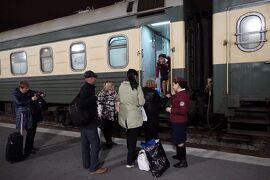 2017年 ジョージアワイン巡り 3 寝台列車でトビリシへ