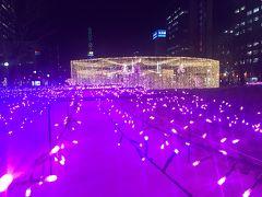 子連れクリスマスシーズンの札幌