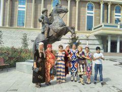 弾丸タジキスタン1709  「ドバイから夜行日帰りでタジキスタンの首都を訪れました。」   ~ドゥシャンベ~