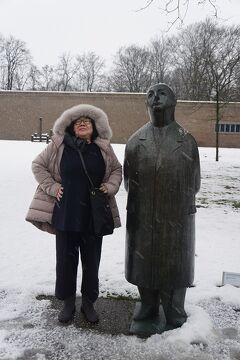 ドイツ・ベルギー・オランダ3か国のクリスマスマーケット巡り(12)大雪のクレラー・ミュラー美術館を一人歩き、2年前の後悔が消え去った日。