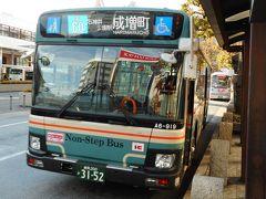 東京都内西部の長距離路線バス(吉60系統)乗車