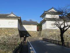 2017暮、滋賀と京都の名城巡り(2/17):12月2日(2):彦根城(2/11):埋木舎から彦根城へ、佐和口の枡形、重文の馬屋