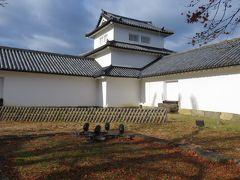 2017暮、滋賀と京都の名城巡り(8/17):12月2日(8):彦根城(8/11):楓の紅葉、西の丸、西の丸三重櫓、現存12天守の模型
