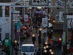 年の瀬の谷中銀座商店街