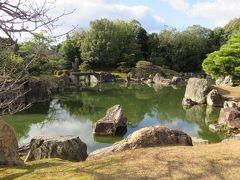 2017暮、滋賀と京都の名城巡り(13/17):12月2日(13):二条城(2/6):二の丸御殿、二の丸庭園、本丸櫓門、本丸庭園、雁木