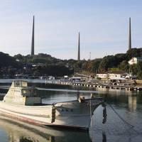 長崎から黒崎教会、出津教会、池島炭鉱、旧佐世保無線電信所(針尾送信所)を経由して博多で水炊き