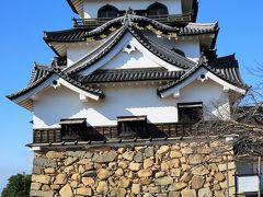 彦根-5 彦根城(天守など国宝)外観と周囲景観 ☆3層3階等の複合式望楼型