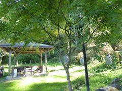 秋の別所温泉♪ Vol15(第2日) ☆別所温泉:「大湯薬師堂」広大な庭園♪