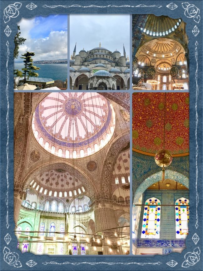 ・:*+2017クリスマス(1)+*:・inイスタンブール~ブルーモスク,アヤソフィア,トプカプ宮殿~(&親日なオジ様達)