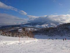 2017年末はルスツでスキー年始は札幌で
