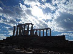 アテネ空港からスニオン岬周りアテネ市内観光