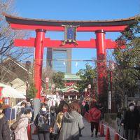2018年お正月 昨年末ニュースでお騒がせの富岡八幡宮に初詣 その後箱根駅伝ゴールを観に行く