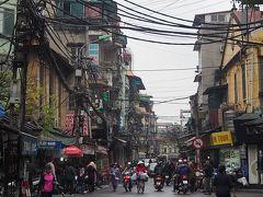 ベトナム北部の旅01 出国~SIM探しがてらのハノイ街歩き