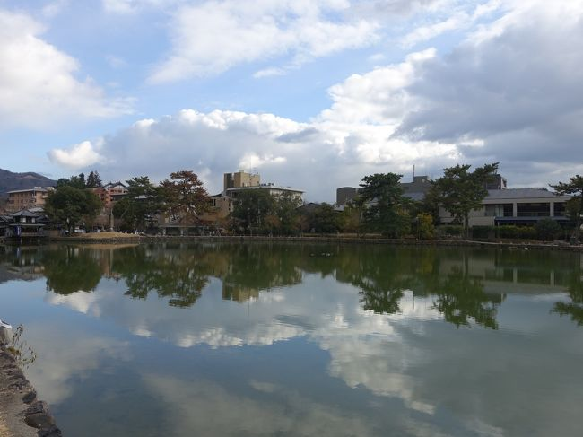 正月明けに奈良に泊まり、名所巡りとのんびりと街歩きしました。