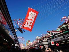 2018年1月 浅草・銀座ぶらっと散策♪正月の賑わい♪街の風景♪