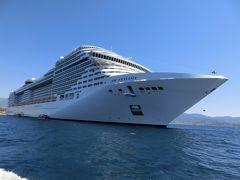 MSCファンタジアによる地中海クルーズ7泊8日(1日目:バルセロナ出港)