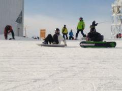 今年もルスツでスノーボード
