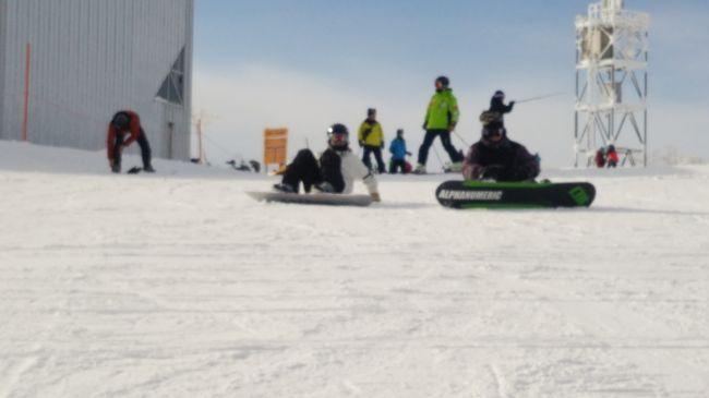 今年もスノーボードの季節がやってきました。お天気も良く気持ちよく滑ってきました