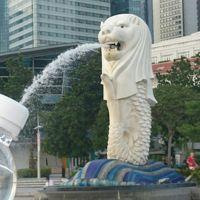 初深夜便でシンガポール♪③