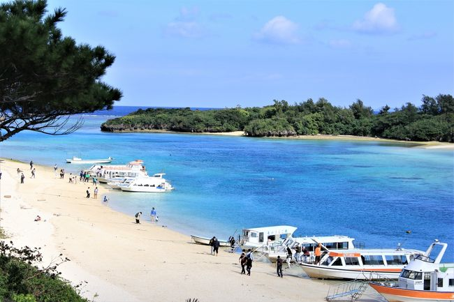 2018年の正月、ANAのSKYコインを使ってどこかに行こうかと・・・連れと二人で考えた末暖かな沖縄に決定!<br />本島から石垣島に飛び、西表島、竹富島を5泊6日で巡ることに。<br /><br />今回の旅は正月ということもあり、レンタカー、レンタサイクルで各島々をぶらぶらと回りながら観光を楽しみ、泡盛とオリオンでお屠蘇気分を堪能することにした。<br />そして、沖縄(八重山)ソバ、チャンプル系、ヤギサシ、石垣牛をマストに各島々の地のものを思う存分食し新年を祝う旅!にしようと連れと意見も一致。<br /><br />行程はこんな感じでした。<br />1/1 那覇観光<br />1/2 中・北部観光<br />1/3 石垣島観光後西表島へ<br />1/4・5 西表島観光<br />1/6 武富島観光<br /><br />本島から西表島向かう途中、石垣島でレンタカーを借りてプチ観光。<br />石垣島周遊編です。<br />