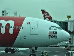 正月一人旅 LCC ジェットスターで上海経由、エアアジアでマレーシアへ