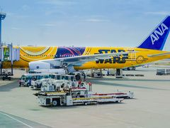 祝・就航!「C-3PO ANA JET」搭乗記(羽田-伊丹)→奈良観光へ