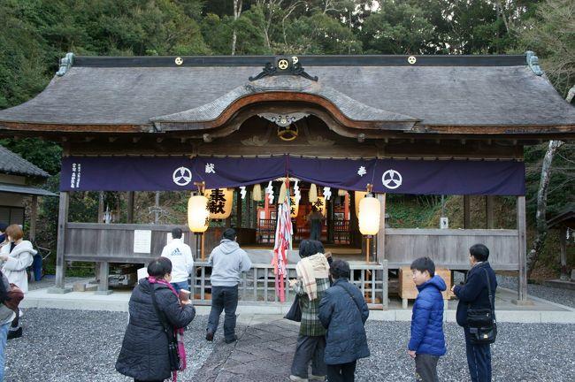 四国旅行4 初日の出見て鳴無神社から大洲市へ