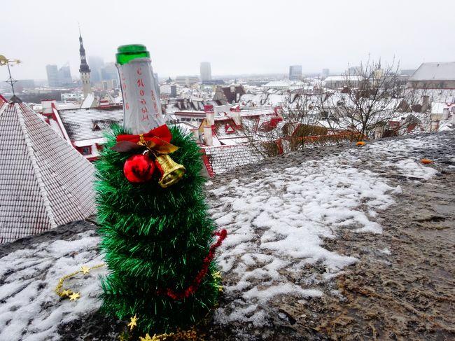 冬のバルト三国ひとり旅:可愛すぎるタリンの街