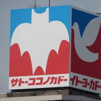 春日部駅西口のサトーココノカドー(イトーヨーカドー)春日部店に入った後、大塚家具とララガーデンを見ました