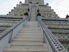 タイ 「行った所・見た所」 バンコクの暁の寺(ワットアルン)の観光