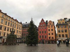 冬の北欧旅行 その1 ストックホルムシティとガムラスタン