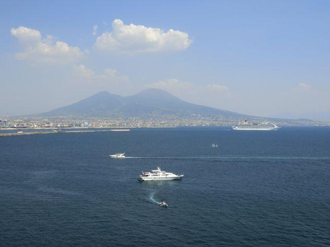 コルシカ島を出港したファンタジアは地中海を南下し、翌日の午前11時頃、次なる目的地に着く。「○○を見ずして死ねない」と言われるナポリである。<br /><br />◎私のホームページに旅行記多数あり。<br />『第二の人生を豊かに』<br />http://www.e-funahashi.jp/<br /><br />『夢の豪華客船クルーズの旅<br />ー大衆レジャーとなった世界の船旅ー』<br />本書完売につき、電子書籍アマゾン・キンドル版として<br />新たに出版しました<br />https://www.amazon.co.jp/dp/B078LPSDYJ/ref=sr_1_1?ie=UTF8&qid=1514161467&sr=8-1&keywords=B078LPSDYJ<br />