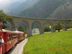 初夏の北イタリアを巡る 21 20日目 モルテラッチ氷河~ベルニナ急行